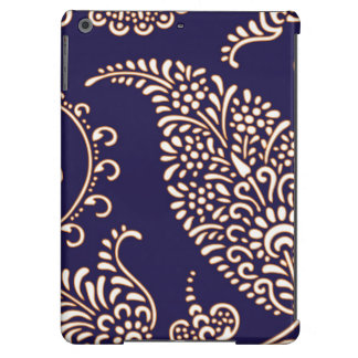 Damask vintage paisley girly floral henna pattern iPad air cover