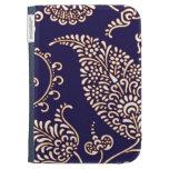 Damask vintage paisley girly floral henna pattern kindle folio cases