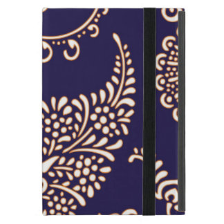 Damask vintage paisley girly floral henna pattern cover for iPad mini