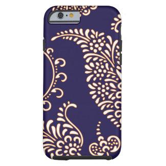 Damask vintage paisley girly floral henna pattern tough iPhone 6 case