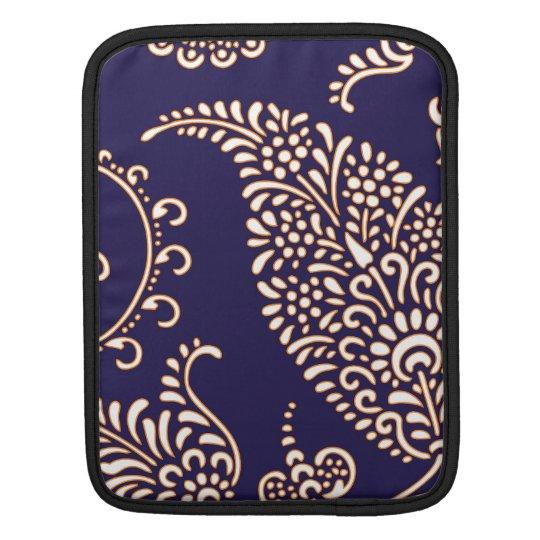Damask vintage paisley iPad sleeve