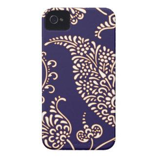 Damask vintage paisley iPhone 4S case skin