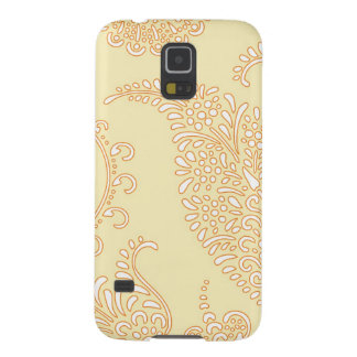 Damask vintage paisley preppy henna floral pattern galaxy s5 cover