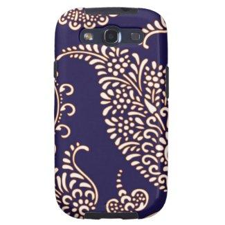 Damask vintage paisley Samsung Galaxy case