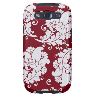 Damask vintage paisley wallpaper floral pattern galaxy s3 cover