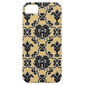Damask vintage paisley wallpaper floral pattern iphone 5 case