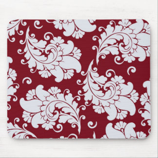 Damask vintage paisley wallpaper floral pattern mouse pads