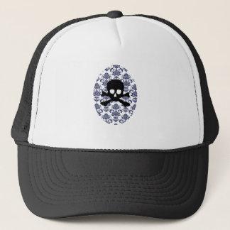 Damask w/ Skull Trucker Hat