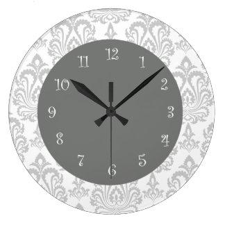 Damask Wall Clocks