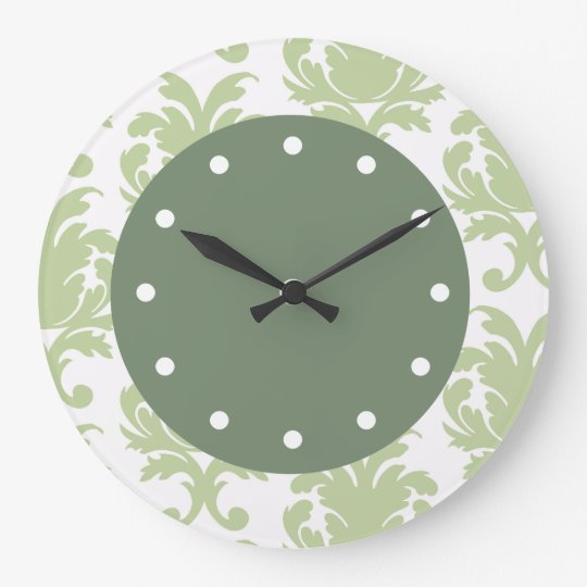 Damask Wall Clocks