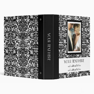 Damask Wedding Album Binder