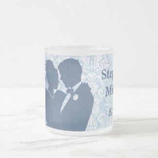 Damask Wedding Couple Keepsake Mug