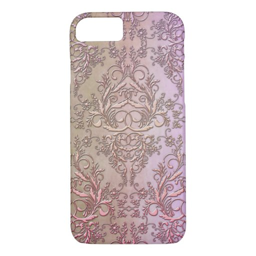 Damask Wildflowers, WATERCOLOR iPhone 8/7 Case