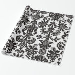 DAMASK WRAPPING PAPER