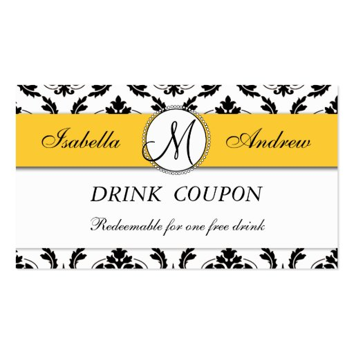 complimentary drink ticket template - free drink ticket business card templates bizcardstudio