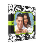 Damask Your Photo Wrapped Canvas Gallery Wrapped Canvas