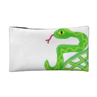 Damballa Weddo - Green Snake - Voodoo - Vodu Cosmetic Bag