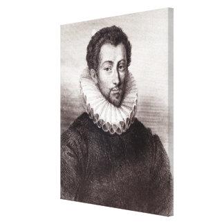 d'Amboise de Louis de Clermont de Bussy Impresión En Lienzo