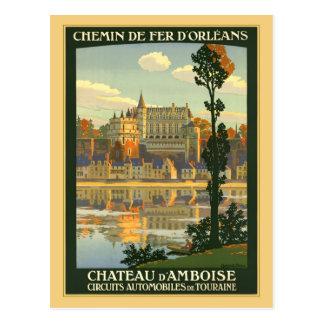 d'Amboise del castillo francés Postales