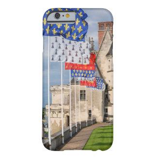 d'Amboise y bandera, Francia del castillo francés Funda Barely There iPhone 6