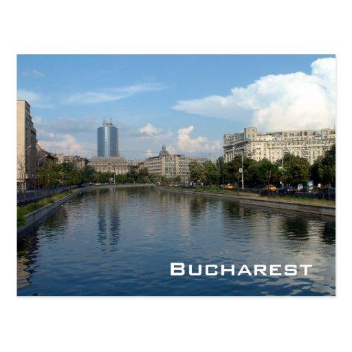 Dambovita river - Bucharest Postcards