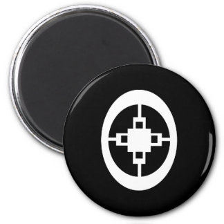 Dame Dame | Symbol for Intelligence and Ingenuity Magnet