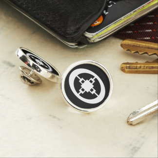 Dame Dame | Symbol for Intelligence and Ingenuity Pin