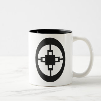 Dame Dame | Symbol for Intelligence and Ingenuity Two-Tone Coffee Mug