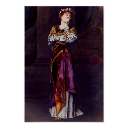Dame Ellen Terry as Imogen - Alma-Tadema Print