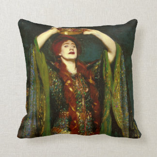 Dame Ellen Terry by John Singer Sargent Throw Pillow