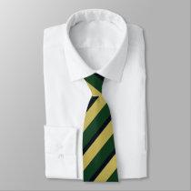 Dame Erin of Eire Diagonally-Striped Tie