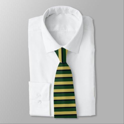 Dame Erin of Eire Horizontally-Striped Tie