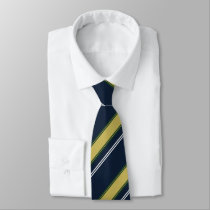 Dame Erin of Eire II Regimental Stripe Tie