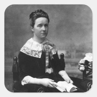 Dame Millicent Fawcett, c.1880 Square Sticker