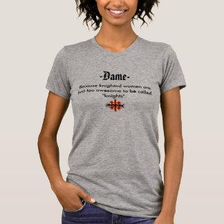 Dame T-shirt T Shirt
