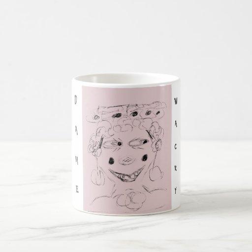 Dame Wacky Classic White Coffee Mug
