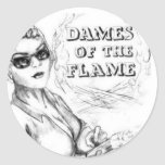 Dames of the Flame Sticker