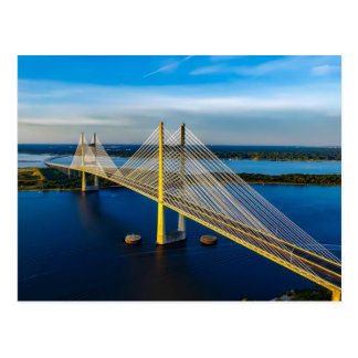 Dames Point Bridge, Jacksonville Postcard