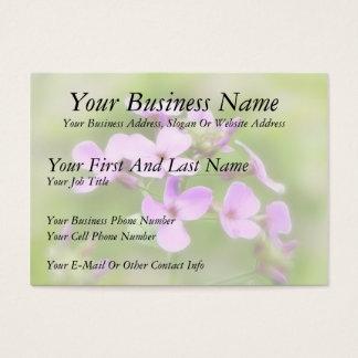 Dame's Rocket - Hesperis matronalis Business Card