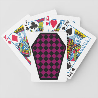 Damier Ebony (Red-Violet) Playing Cards