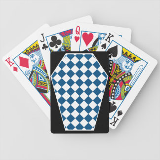 Damier Ivory (Blue) Playing Cards