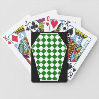 Damier Ivory (Green) Playing Cards