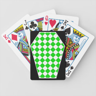 Damier Ivory (Lime) Playing Cards