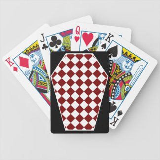 Damier Ivory (Red) Playing Cards
