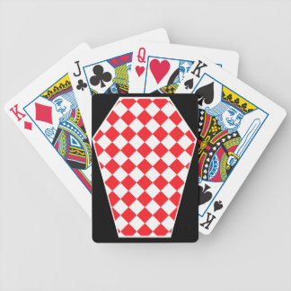 Damier Ivory Ruby Playing Cards