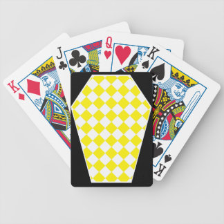Damier Ivory (Yellow) Playing Cards