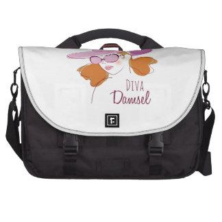 Damisela de la diva bolsas para ordenador