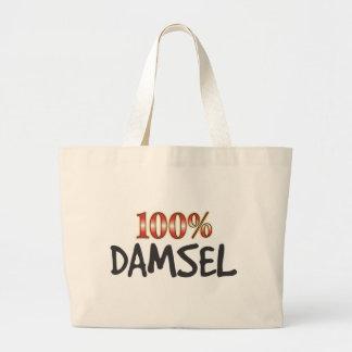 Damisela el 100 por ciento bolsas de mano