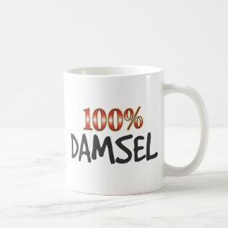 Damisela el 100 por ciento taza