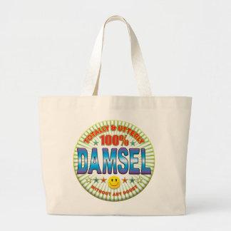 Damisela totalmente bolsa